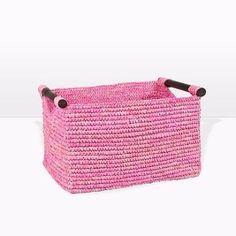 cestas de trapillo rectangulares como hacer