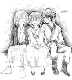 Best friends: little Soo-won, Yona, and Hak, crushing me under a mountain of feels! Yona of the Dawn/Akatsuki no Yona