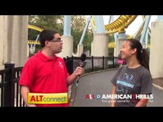 ALT Interviews Emily MacKinnon after 1206 rides on Skyrush at Hersheypark