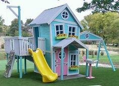 This is the cutest PLAYHOUSE ever (88 pieces)