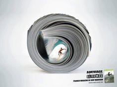 adv / Surf magazine