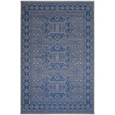 Ethnic Indoor Rug (4'10X7'6) - Overstock™ Shopping - Great Deals on 5x8 - 6x9 Rugs