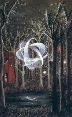 """Reflejo lunar/Moon's Reflection"" 1961 Remedios Varo."