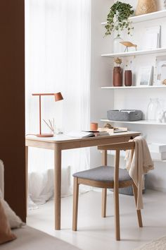 my scandinavian home: Per's New Home Office (With Beautiful Pieces From Skovby)