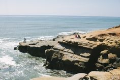Sunset Cliffs San Diego CA oh how I miss running along here!