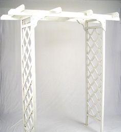wood wedding arch - Google Search