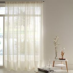 "Image Vorhang ""Sylva"" mit Bleisaum La Redoute Interieurs"