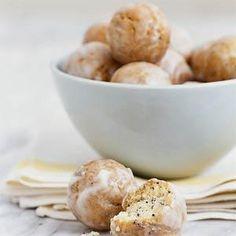 Lemon-Poppy Seed Doughnut Holes | MyRecipes.com
