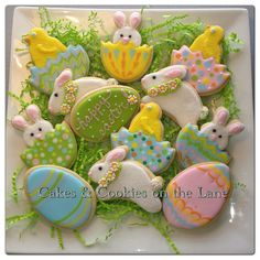 Easter 2013 by Cakes & Cookies on the Lane (Kathy Kmonk), via Flickr