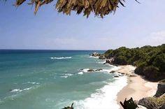 Beach in Tayrona National Park, Colombia