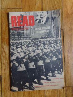 Rare Read Magazine Incorprated Young America Vol X - No. 12 Feb 15, 1961