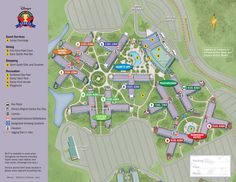 Disney's All-Star Sports Resort Map
