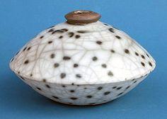 Ceramics by The Eeles Family * at Studiopottery.co.uk - Naked Raku Vase by Simon Eeles. 2007.