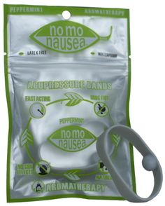 No Mo Nausea Band in grey. Our #1 selling product for headaches and migraines. Get your instant relief from NoMoNausea.com