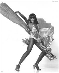 Anna Mae Bullock 1970  = Better known as Tina Turner