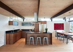 Projects | Klopf Architecture Atrium, Mill Valley Kitchen, Moderne Pools, Sofa And Loveseat Set, Privacy Screen Outdoor, Mid Century Modern Kitchen, Home Remodeling, Mid-century Modern, New Homes