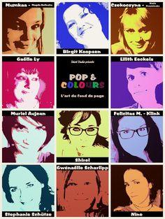 Pop and Colours - Atelier en ligne - Online workshop ! - Shirel Studio