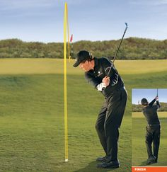 Golf Tips Swing Phil Mickelson: How To Hit 2 Basic Pitches and Chips - Golf Digest - Focus on these 4 shots to improve your short game. Golf Mk4, Cheap Golf Clubs, Golf Chipping Tips, Golf Pride Grips, Phil Mickelson, Golf Instruction, Golf Tips For Beginners, Perfect Golf, Golf Training