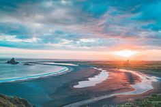 Auckland sunset vibes at Whatipu on the rugged West Coast captured by @andreww #visitauckland by visitauckland
