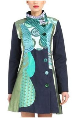 Desigual - I love everything but this coat is from my dreams...
