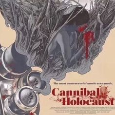 "Cannibal Holocaust (Variant) by Randy Ortiz 24x36"" Movie Poster  Green Inferno Variant   Released By Grey Matter Art"