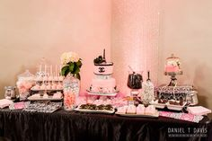 Coco Chanel Bridal Shower