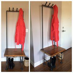 Industrial coat rack