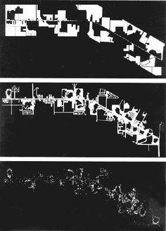 Nolli's Map of Las Vegas a) undeveloped land b) asphalt c) autos [©Venturi, Robert. Learning from Las Vegas. Kingston Press Inc. USA. 1972. pg. 16]
