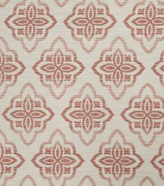 Jaclyn Smith Upholstery Fabric-Accurate/Blush