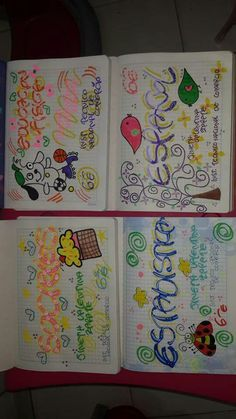 Ideas Para, Notebook, Bullet Journal, Lettering, School, Victoria, Paper, Creative Notebooks, Decorated Notebooks