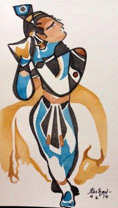 New forever series. Krishna Painting, Krishna Art, Krishna Leela, Shree Krishna, Lord Krishna, Arm Tattoos, Hindu Tattoos, Sleeve Tattoos, Indian Illustration