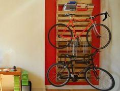 Pallet Bicycle Rack2