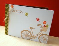 Love this card design | Christina Kowalczyk | My Paper Secret: Pedal Pusher
