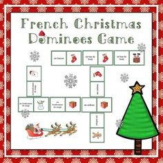 French Christmas Dominoes Game