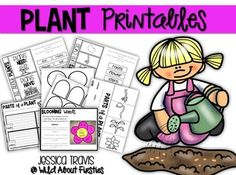 Freebie; Spring is here....which means it is time for PLANTS! This mini-packet of plant printables is the perfect jump start to spring and/or your plants unit!You will find interactive templates, a writing template, a flip-flap activity, and a fun little flower craft!Enjoy:)Check out this other plants freebie in my store as well:Parts of a Plant FreebieThank You!Jessica TravisWild About Firsties