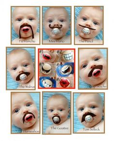 Happy Movember! 12 Hilarious Mustache-Themed Looks for Baby