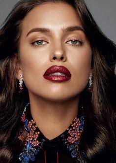 ☆ Irina Shayk | Photography by Jonas Bresnan | For Glamour Magazine Russia…