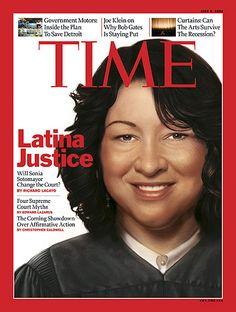 The first Latina justice on the U.S. Supreme Court - Justice Sonia Sotomayor