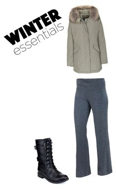 winter wear by rheana2005 on Polyvore featuring polyvore fashion style Woolrich ibex Refresh clothing
