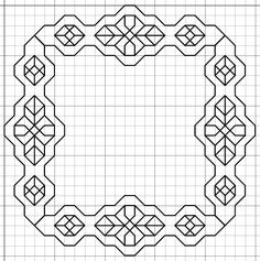 padrões de bordado blackwork livre imaginesque