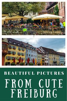 Apart from being so close to Black forest, Freiburg itself is a beautiful city. With colorful houses, narrow cobbled streets and locals humming around, it is a lively city. #Freiburg #Germany #Blackforest