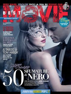 50 shades freed a pinterest collection by lonneke lormans dakota fifty shades darker on the cover of best movie magazine italy february 2017 issue fandeluxe Gallery