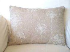 dandelion throw pillows - Google Search