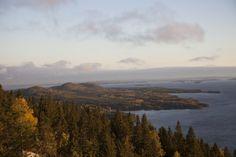 Sunrise at sacred mountain of Koli. Sacred Mountain, Finland, Sunrise, Landscapes, Mountains, Places, Nature, Travel, Paisajes