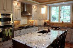 Beautifully remodeled kitchen by @TrendMarkInc
