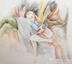 """myrkvidrs: """"by Sherry """" Legolas And Thranduil, Gandalf, Modern Disney Characters, Elf Me, Jrr Tolkien, Fanart, Middle Earth, Lord Of The Rings, Lotr"""