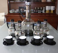 Vintage Inland Turkish Coffee Server Set by cocoandcoffeevintage