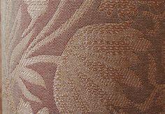 【エクストリームシリーズ】上質ジャガード・形状記憶付カーテン <バッキンガム ピンクブラウン>