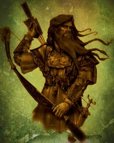 """""""One is called Ullr, son of Sif, step-son of Thor; he is so excellent a bowman, and so swift on snowshoes, that none may contend with him. He is also fair of aspect and has the accomplishments of a warrior; it is well to call on him in single-combats."""""""