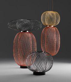 "Parachilna-Lighting-1-ANWAR-Burks//""Parachilna Launches Lighting by Stephen Burks & Jaime Hayon"""